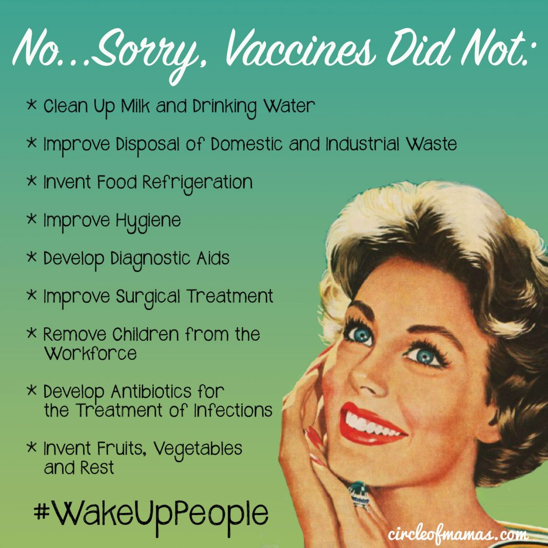 No, Vaccines Did Not Save Us