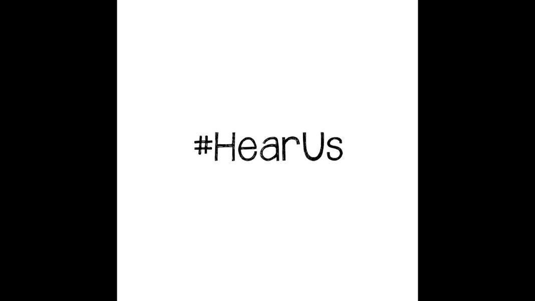 #HearUs