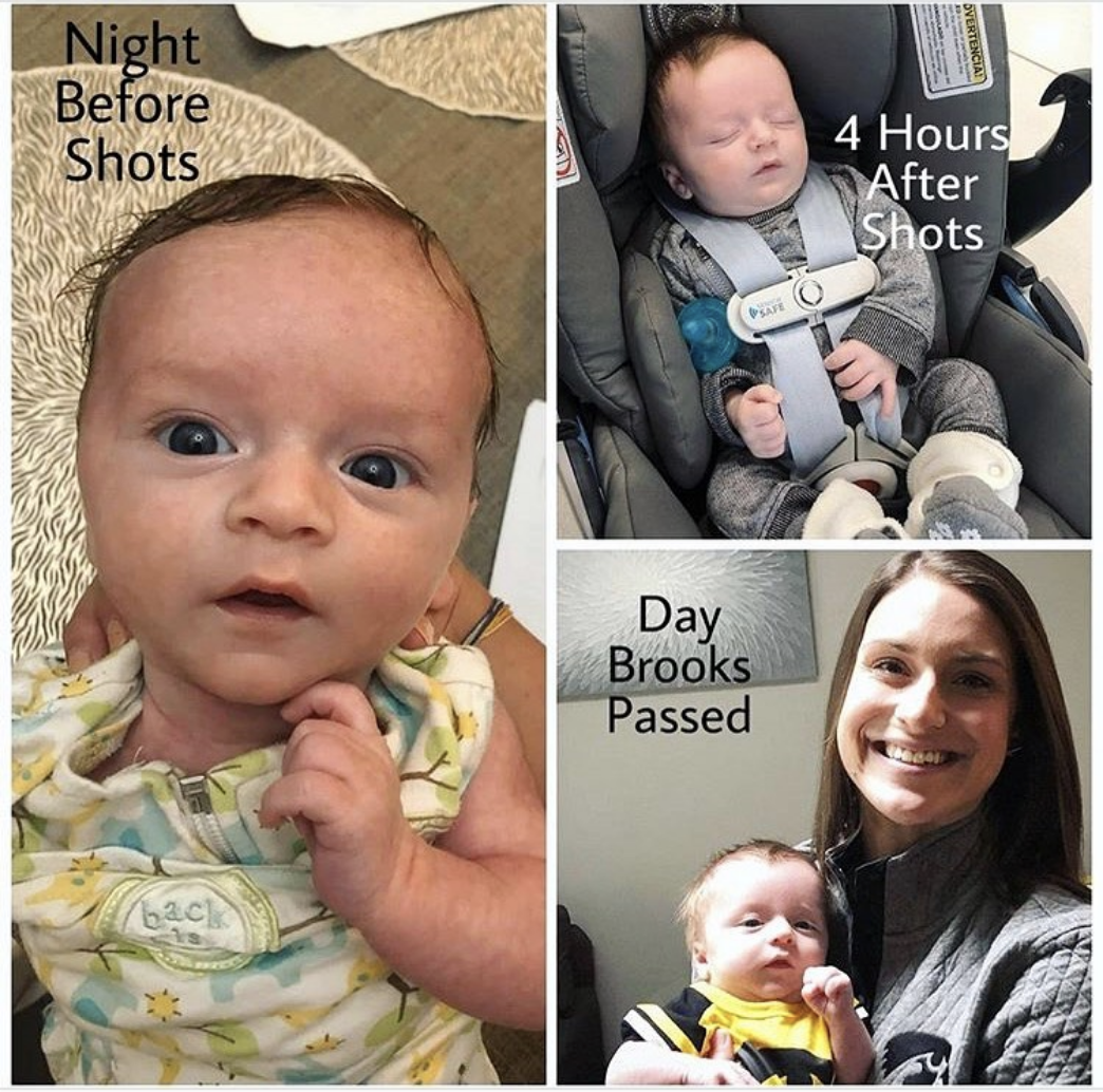 Baby Brooks Weighed Only 8 Pounds and Died 4 Days after Vaccines