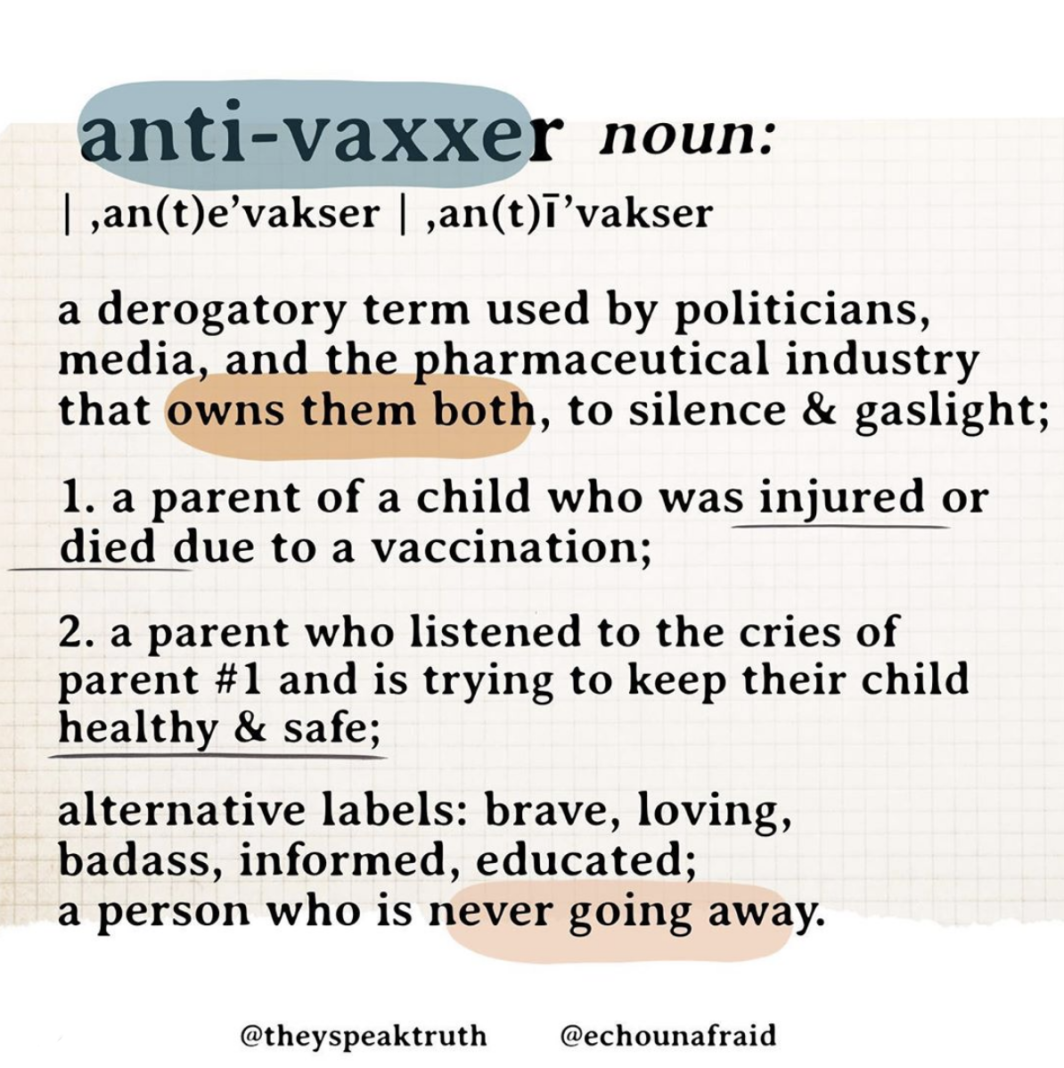Dear Anti-Vaxxer